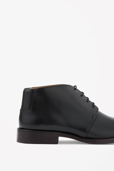 Leather Ankle Boot.