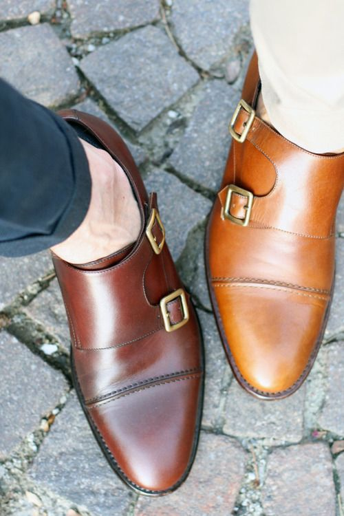 Monk straps are very popular. You will see single strap and double strap Monk sh...