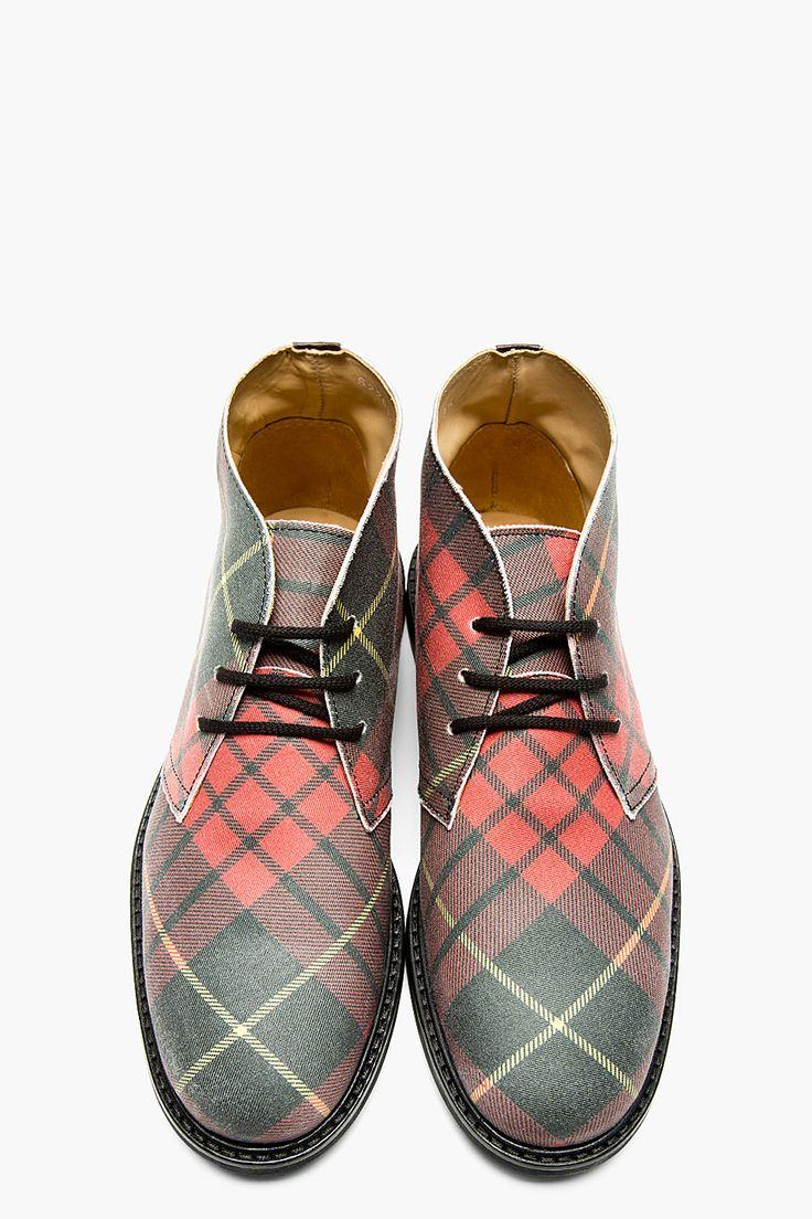 The Best Men 39 S Shoes And Footwear Plaid Desert Boot Fashion Inspire Fashion Inspiration