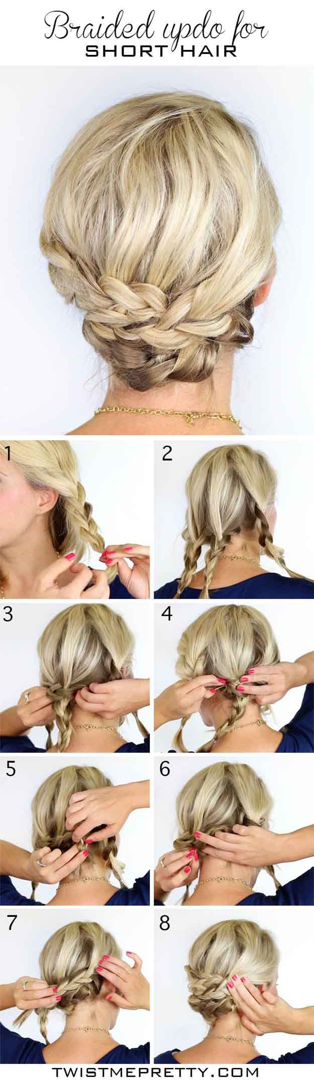 How to Do The Braided Updo