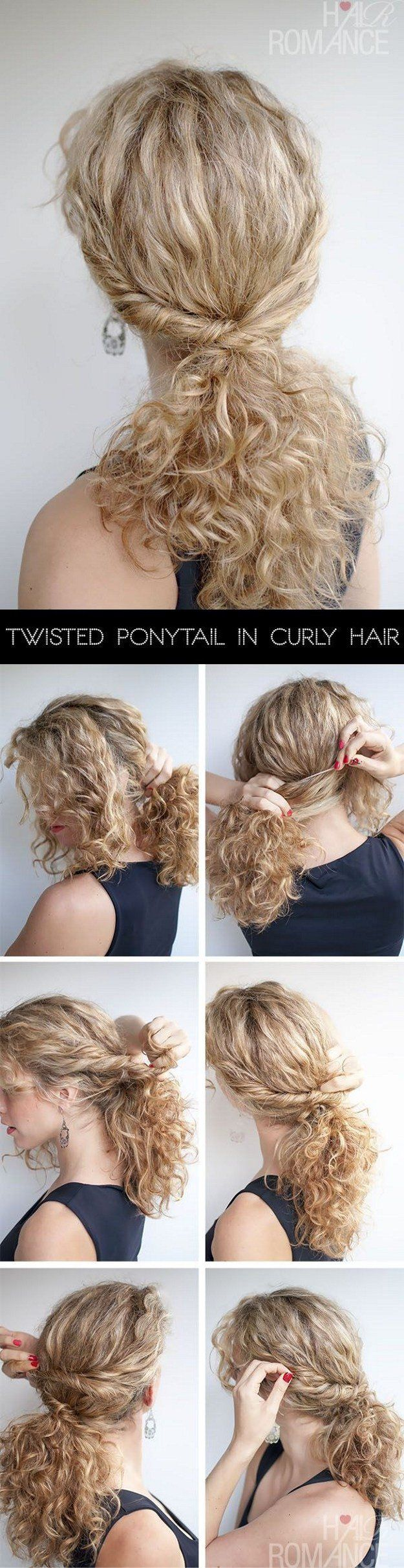 Ponytail is every woman's best friend; its the go to option for bad hair day...