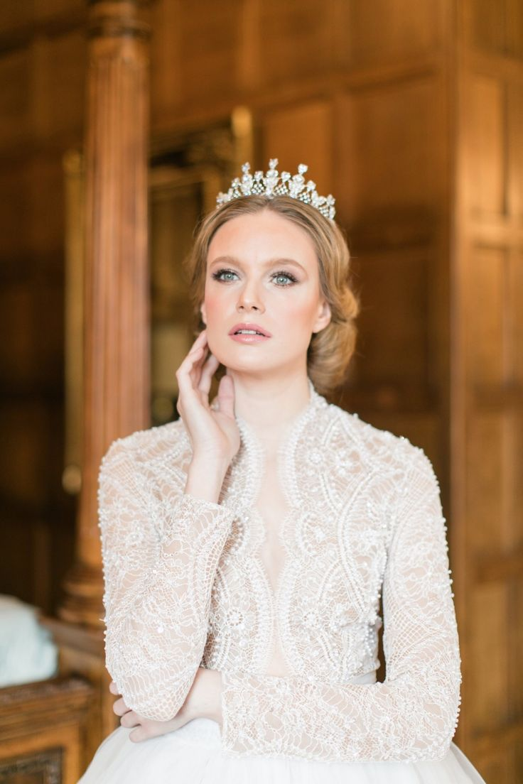 Majestic England Wedding Inspiration Shoot Inspired by The Crown