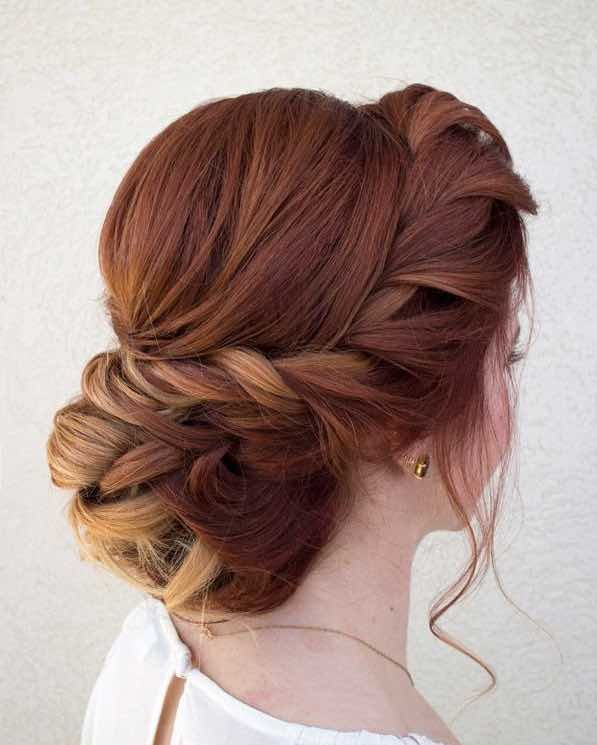 wedding hairstyle: Hair & Make-up by Steph