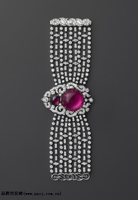 Tiffany & Co. - Three Stone With Sapphire Side Stones: The modern take on my mom...
