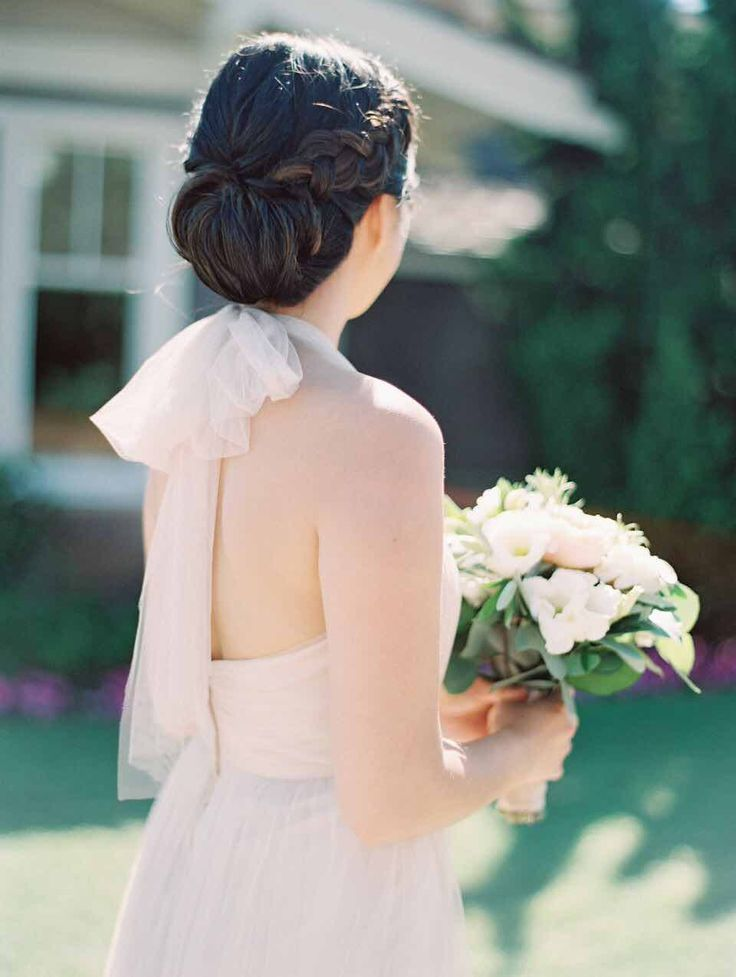 Featured Photographer: Esther Sun Photography; bridesmaid hair style idea