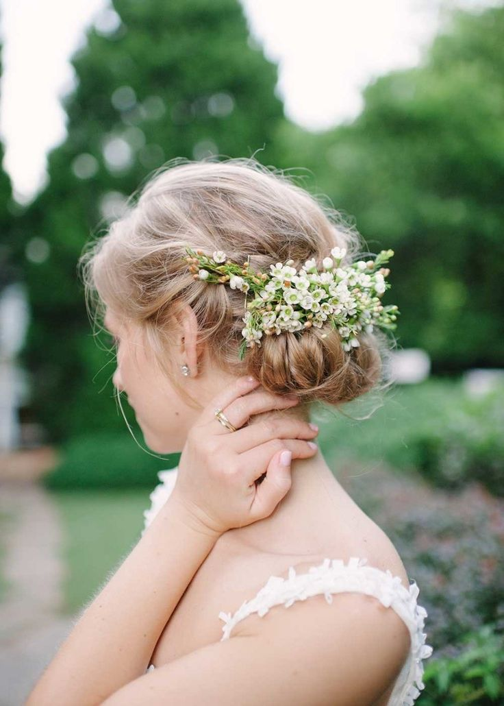 wedding hairstyle idea; photo: Julie Cate Photography