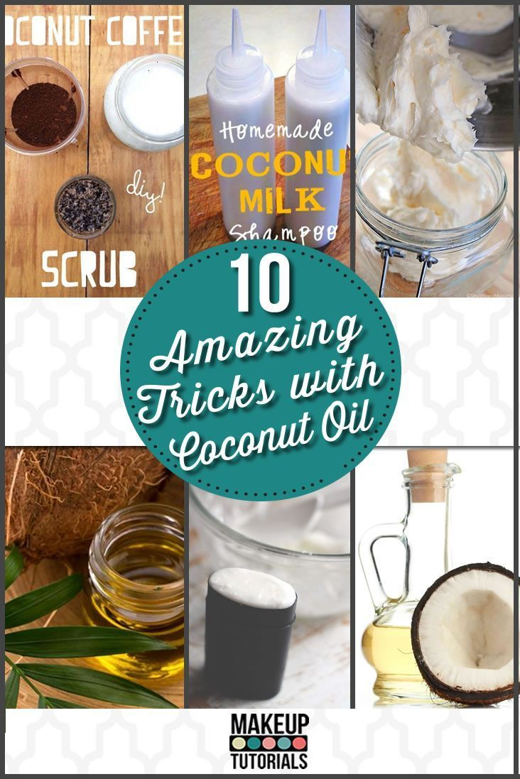 10 Amazing Tricks With Coconut Oil