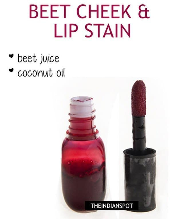 DIY Lip Stain | Organic and Chemical Free | Makeup Tutorials