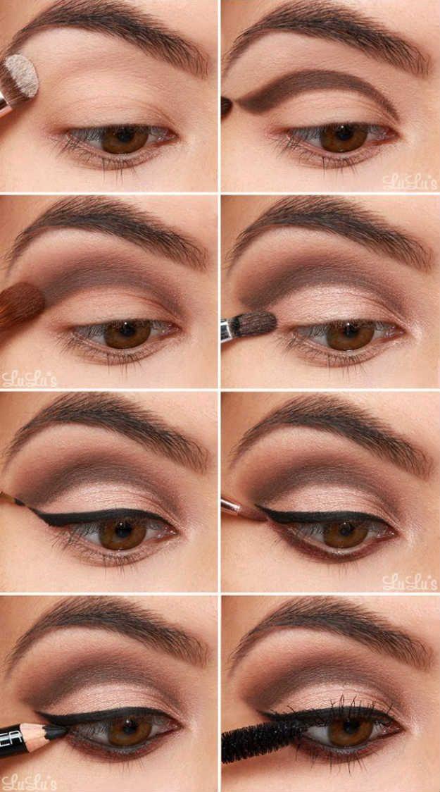 Bridal Eye Makeup | Eyeshadow For Brown Eyes | Makeup Tutorials Guide