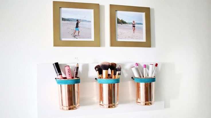 Say goodbye to messy counters and give your makeup a proper new home. Make your ...