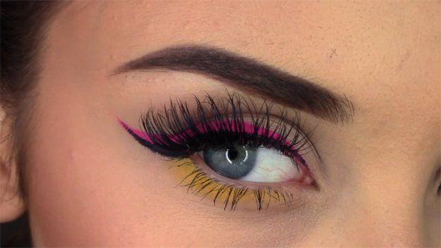 Two-Toned Winged Eyeliner | Great Eyeliner Tips For Makeup Junkies