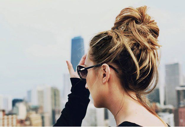 Want to learn how to do a messy bun? With only 5 steps, this tutorial will teach...