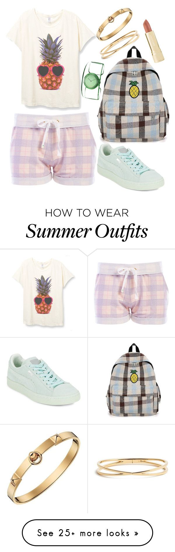 "c9bdd7e7473b ""Sweet Tumblr Summer 1 Outfit"" by agos-dno75 on Polyvore featuring Honeydew  Intimates"