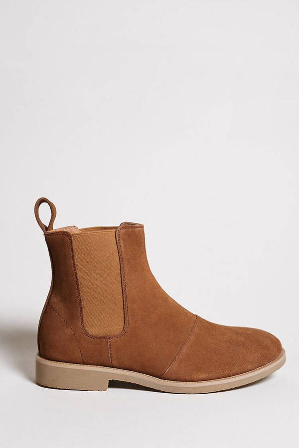 21 MEN Men Foundation Suede Boots