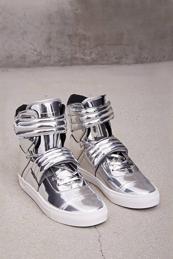 21 MEN Radii Metallic Sneakers