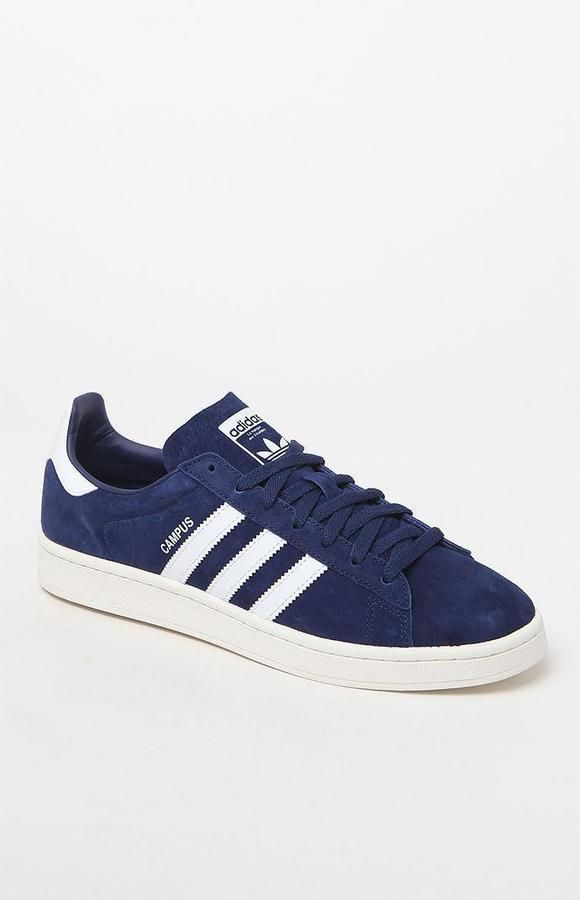 adidas Campus Blue & White Shoes