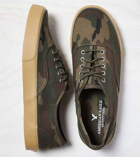 The Zapatos Mejor Hombre Zapatos The And Footwear : american eagle  AEO Camo a408b3