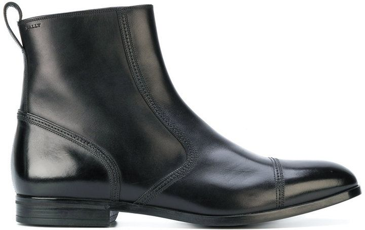 Bally pull-on ankle boots