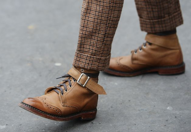 Boots Tommy Ton's Street Style: Paris Fall 2013: Style: GQ
