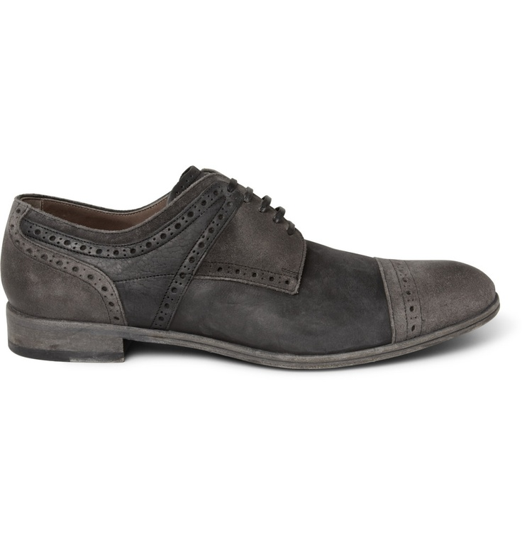 D &G oiled suede brogues