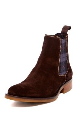 Eboot Suede Ankle Boot
