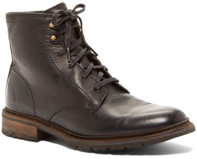 Frye James Lug Lace Up Boot