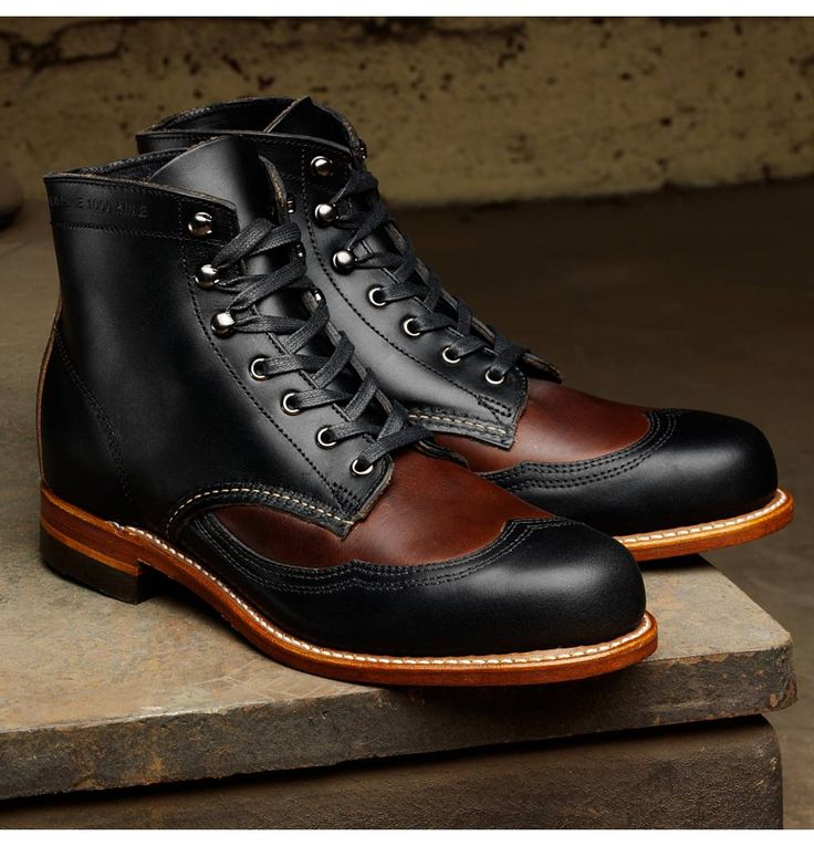 This are two-tone: Men's Addison 1000 Mile Two-Tone Wingtip Boot - W05922 - ...