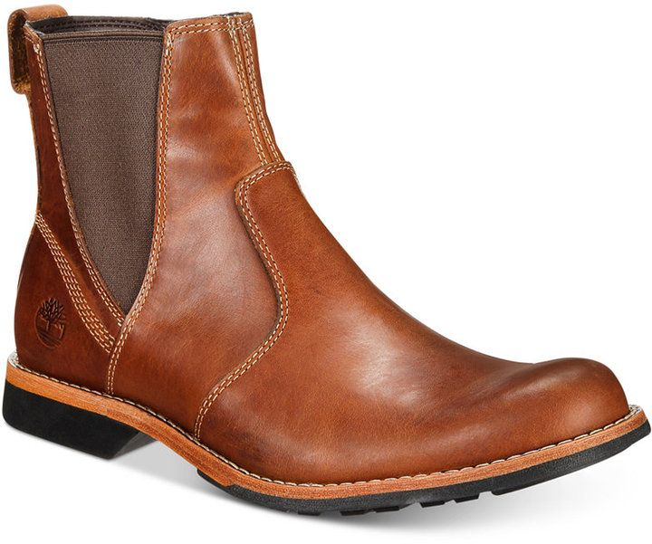 Timberland Men's City Casual Chelsea Boots Men's Shoes