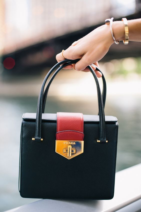 Prada Handbags collection & more...