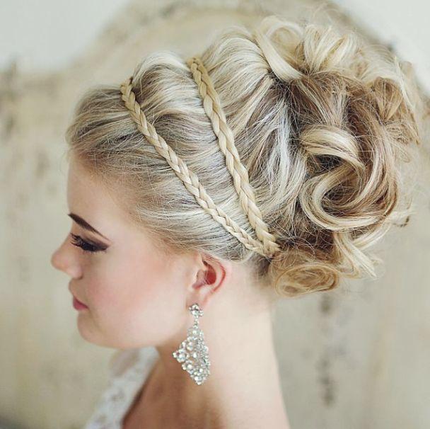 Wedding Hairstyle: Elstile