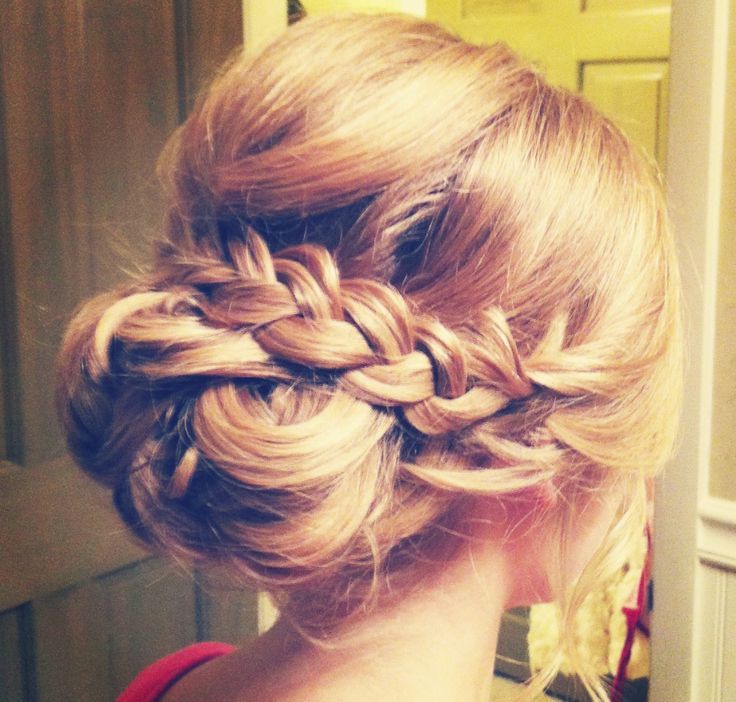 Wedding Hairstyle: Hair and Makeup by Steph