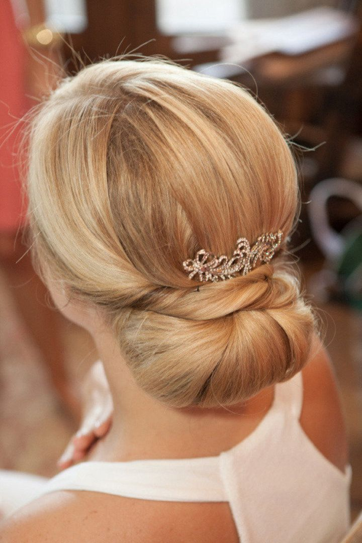photo: Matt Edge Photography; wedding hairstyle;