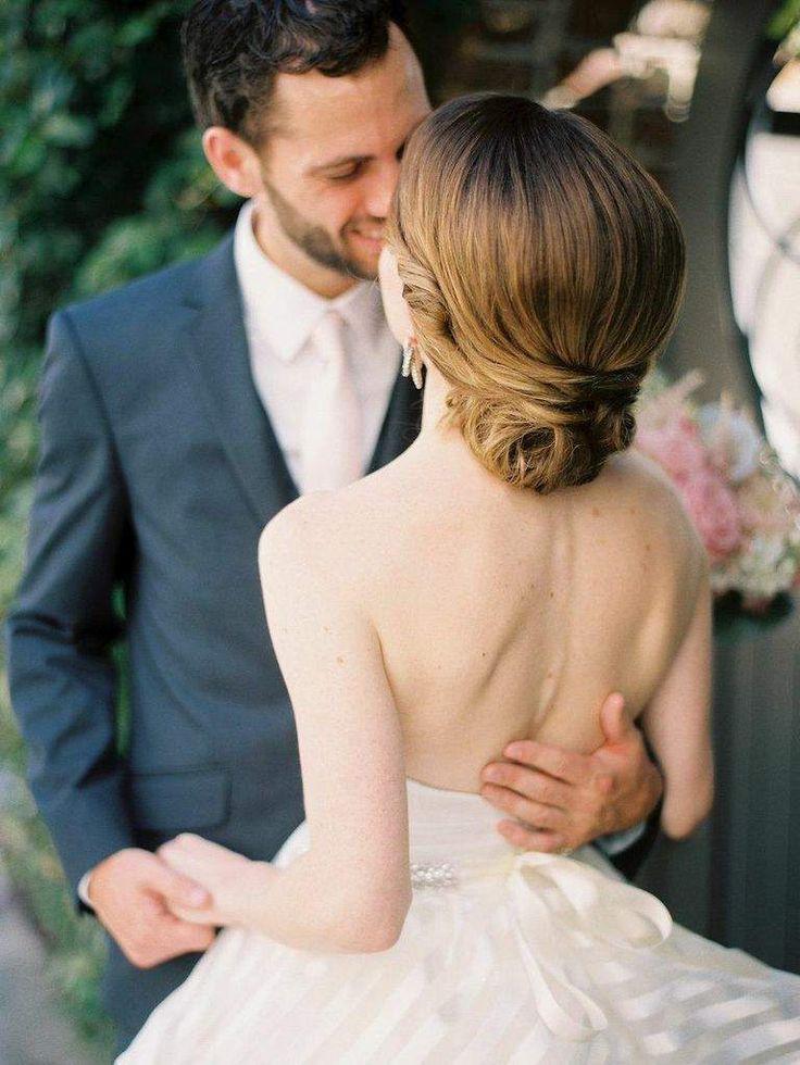 wedding hairstyle; photo: Lauren Kinsey