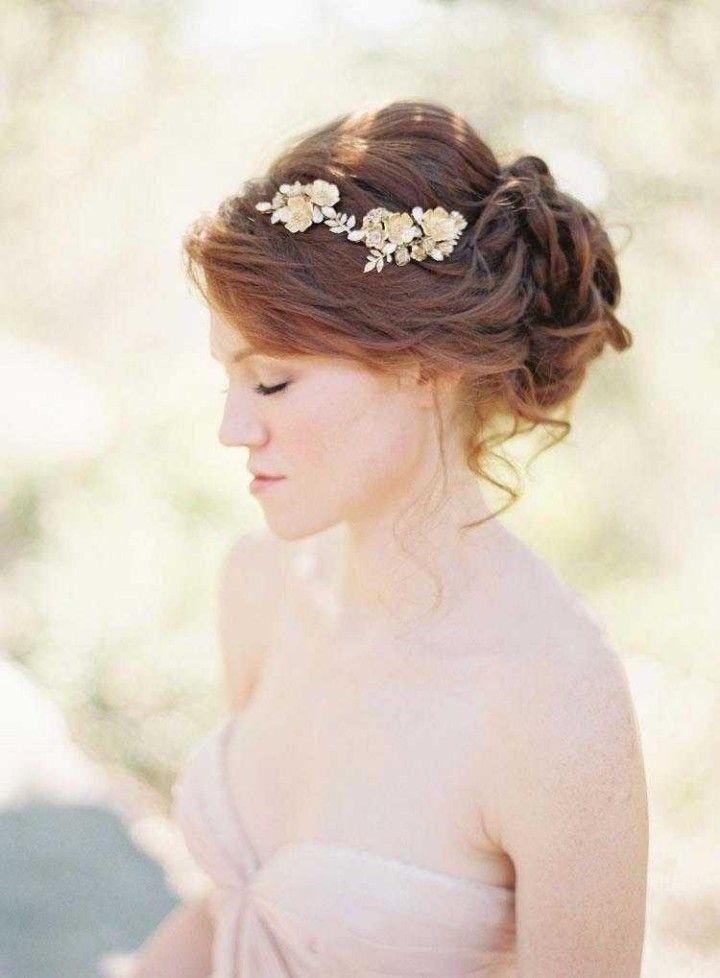 wedding hairstyle; Photographer: Caroline Tran
