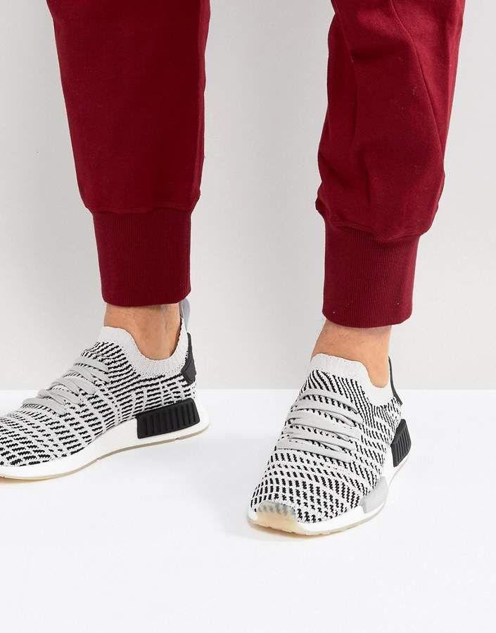 adidas Originals NMD R1 STLT Sneakers In Gray CQ2387