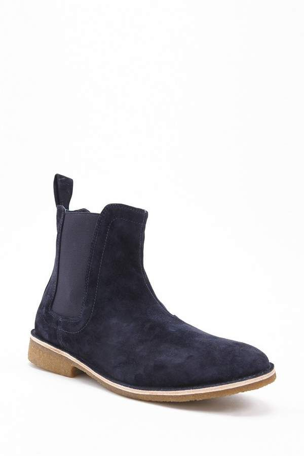 Forever 21 Men Foundation Faux Suede Ankle Boots