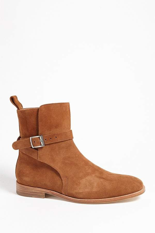 Forever 21 Men Foundation Faux Suede Buckle Ankle Boot