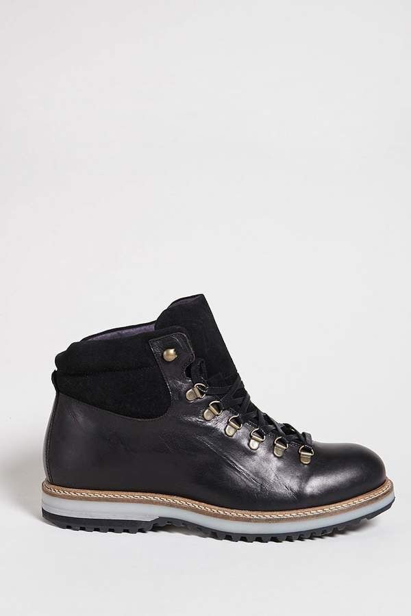 Forever 21 Men Supply Lab Leather Hiking Boots