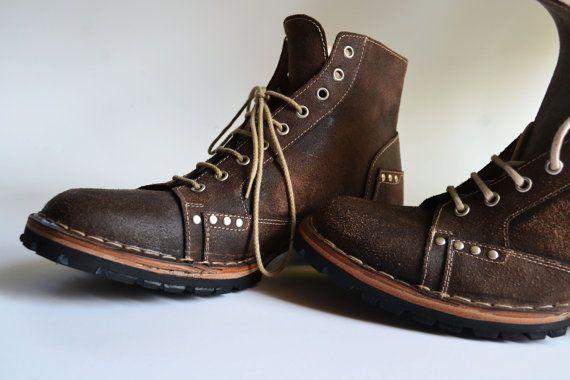 Leather Men Ankle Boots