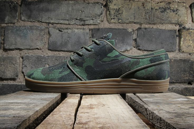 "#Nike SB Lunar Stefan Janoski QS ""Camo"" #sneakers"