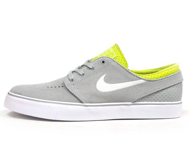 Nike SB Stefan Janoski Low-Grey-Yellow-White