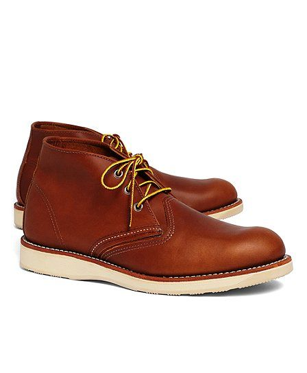 Red Wing 3140 Leather Desert Boot - Brooks Brothers