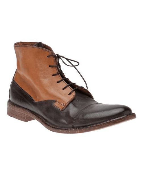 The Men's Bootery | Moma Two-toned boot on Wantering #menstwotonedboots #mensboo...