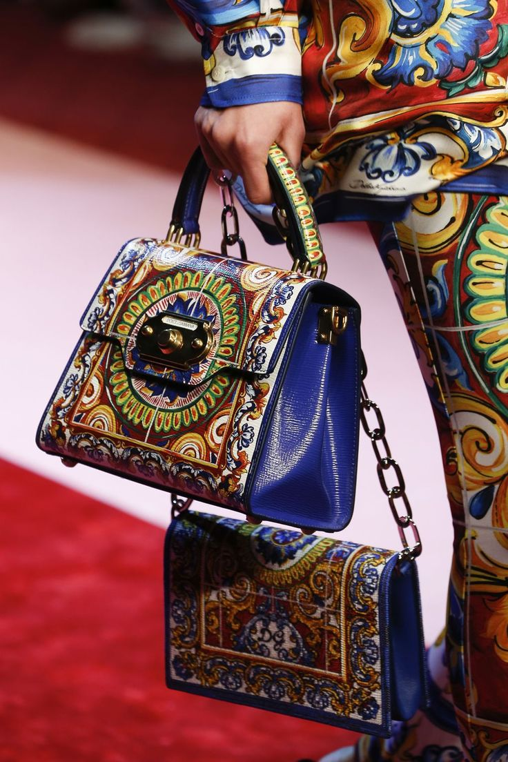 Dolce & Gabbana Spring 2018 Ready-to-wear Fashion Details