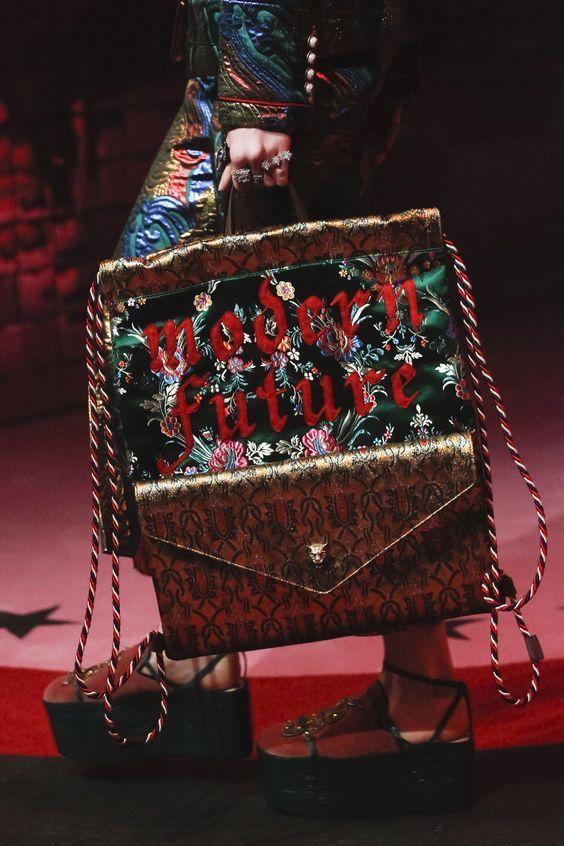 Gucci  SS 2017 Fashion show details & more