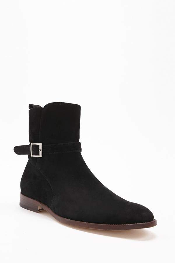 Forever 21 Men Foundation Buckled Suede Boots