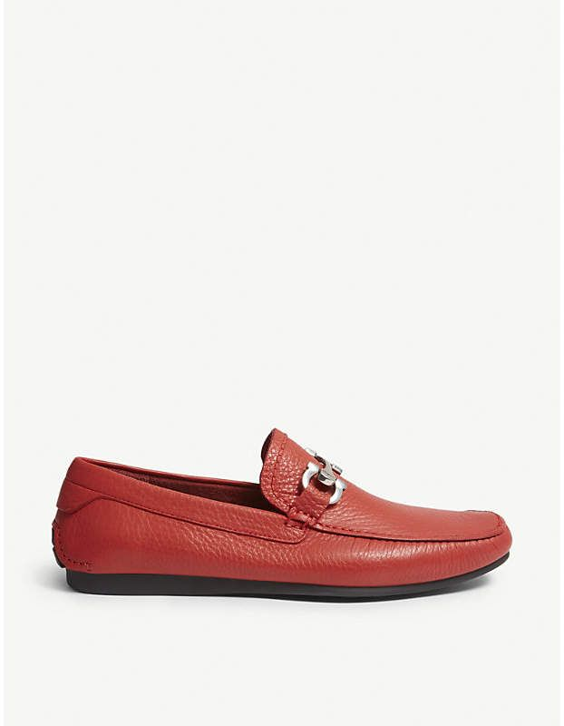 Salvatore Ferragamo Cancun leather loafers