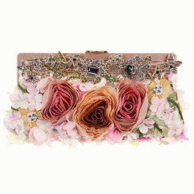 silk flower handbag from Valentino's Spring/Summer 2009 collection. crazy be...