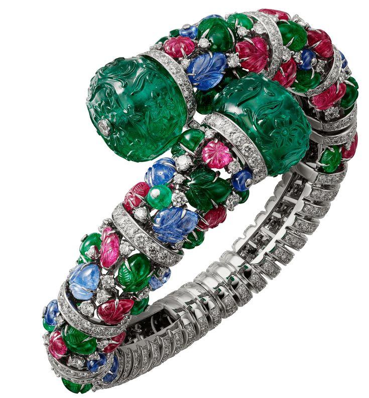 "CARTIER. ""Kankai"" Bracelet #Cartier #RésonancesDeCartier #2017 #HauteJoaill..."