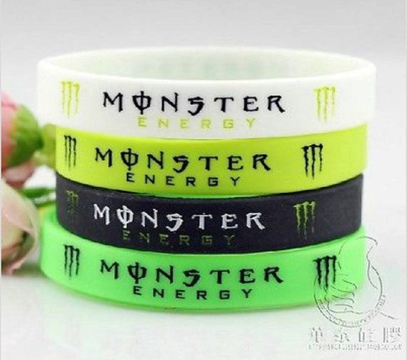 Hey, check it out! Monster Energy Drink bracelets! www.etsy.com/...